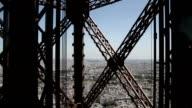 Ride in Eiffel Tower elevator video