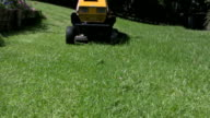 Ride-on Lawn Mower Approaching video