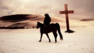 rider passing cross video
