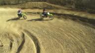 HD CRANE: MX Riders Speeding At The Apex video
