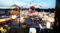 Rides At Carnival video