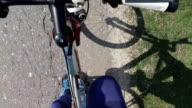 Riding a bike video