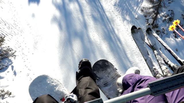 Riding a ski lfit video