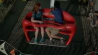 Riding Ferris Wheel video