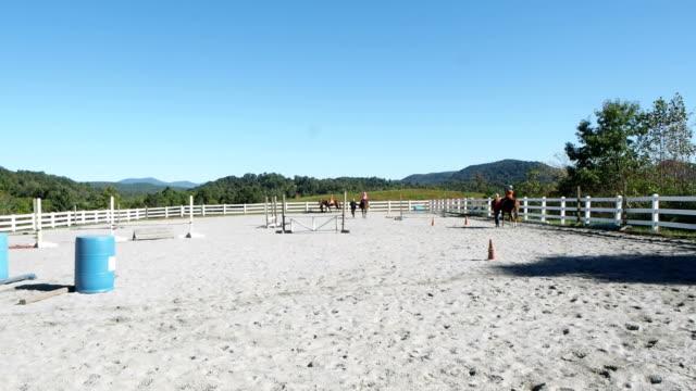Riding Horseback video