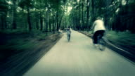 Riding in a park video