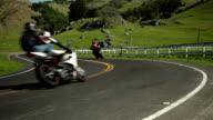 Riding Motorcycles Through Farm Country video