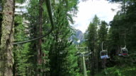 Riding the Fly-Line on Dolomites - Italy video
