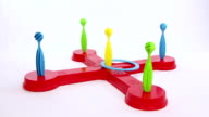 Ring scoring maximum result of a children plaything video