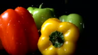 Rinsing Bell Pepper video