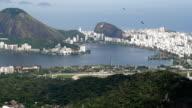 Rio de Janeiro panorama video