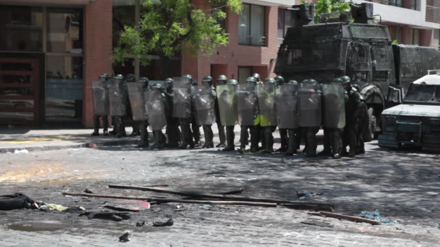 Riot Police video