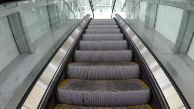 rise on the escalator video