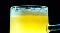 Rising Beer Bubbles video