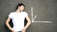 Rising Chart on Asphalt video