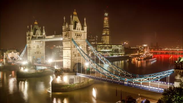 Rising Tide Under Tower Bridge video