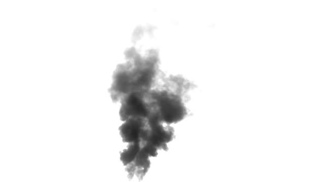 Rising up Clouds of Black Smoke video