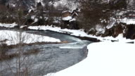 River at Gassho-zukuri Village video