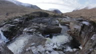 River Etive Waterfall video