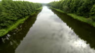 River from air, Aerial View video