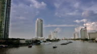 River in Bangkok video