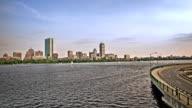 River in Boston video