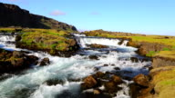 River in Iceland video