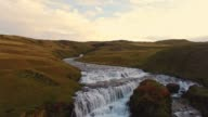 AERIAL River in Iceland video