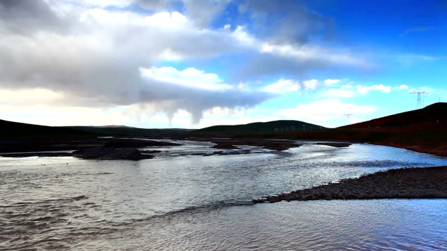 River in Tibet video