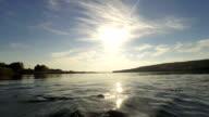 River landscape video