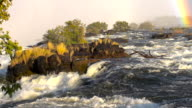 River Rapids At Victoria Falls video