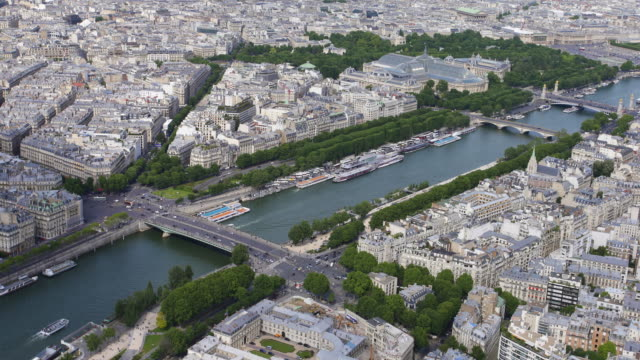 River Seine from above video
