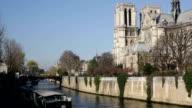 River Seine Paris France video