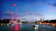 River Thames London video