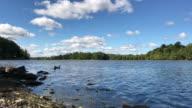 Rivière Des Mille Iles, Laval, Quebec, Canada video