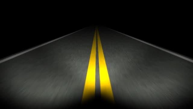 Road 01 Night Loop video