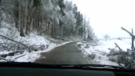 Road After The Sleet Storm video