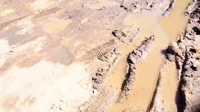 Road and mud video