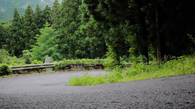 Road bike ride video