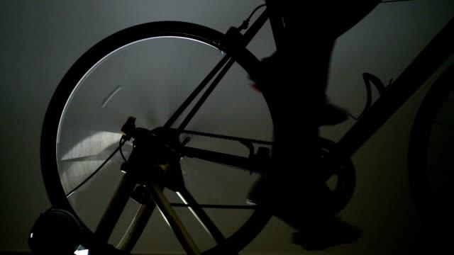 Road bike training -Rear wheel- video