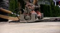 Road Compactor Machine (HD 1080p30) video