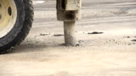 Road Construction Slow Motion video