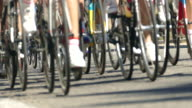 road cycle race video