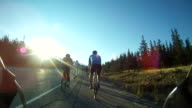 Road Cycling with friends video