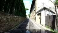 Road in Florence, Tuscany video