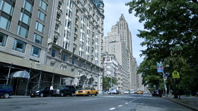 Road in Manhattan, New York, USA video