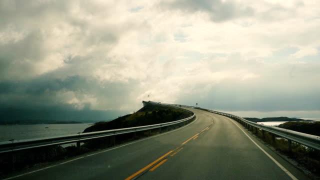 Road in Norway video