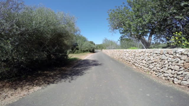 Road in Spain video