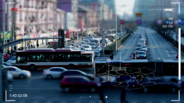 Road monitoring video