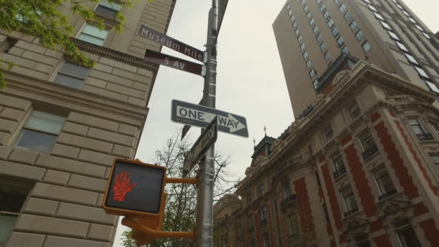 Road sign in New York video